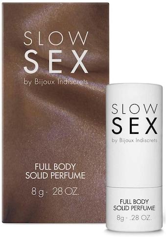 Bijoux Indiscrets Eau de Solide »Full body solid perfume- Slow Sex« kaufen