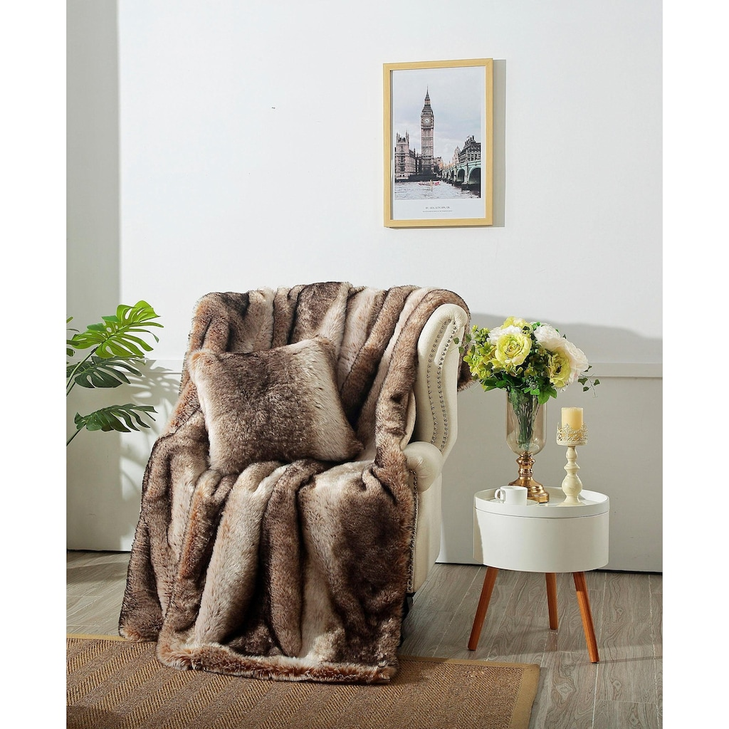 Star Home Textil Wohndecke »Nutria«, besonders weich