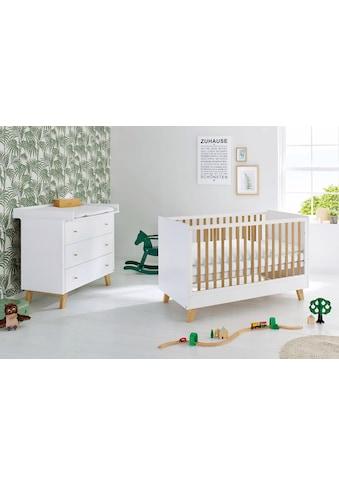 Pinolino® Babymöbel-Set »Pan«, (Spar-Set, 2 St.), breit; Made in Europe; mit... kaufen