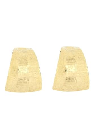 Firetti Paar Ohrstecker »diamantiert im Schachbrettdesign, im Verlauf glänzend, geriffelt« kaufen