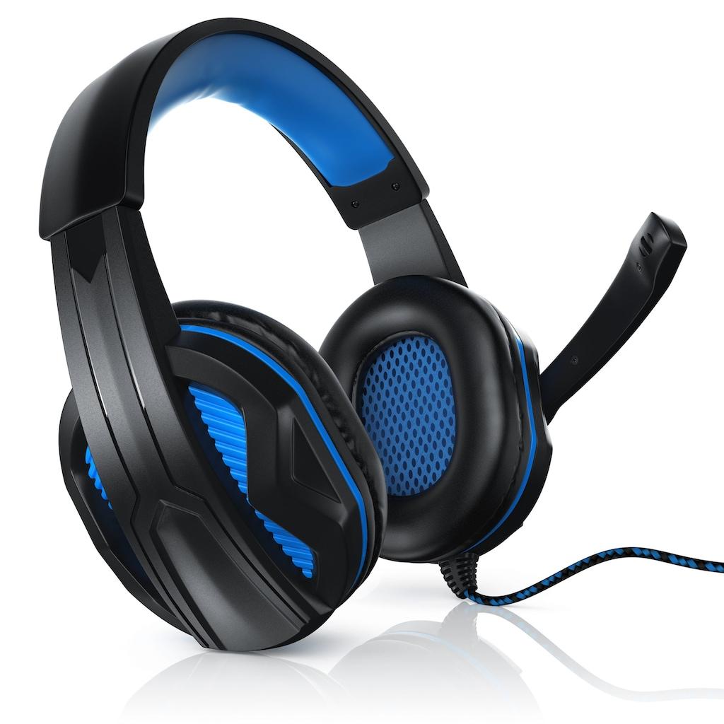 CSL GHS100 Premium USB Gaming Headset »inkl. Mikrofon & Kabelfernbedienung«