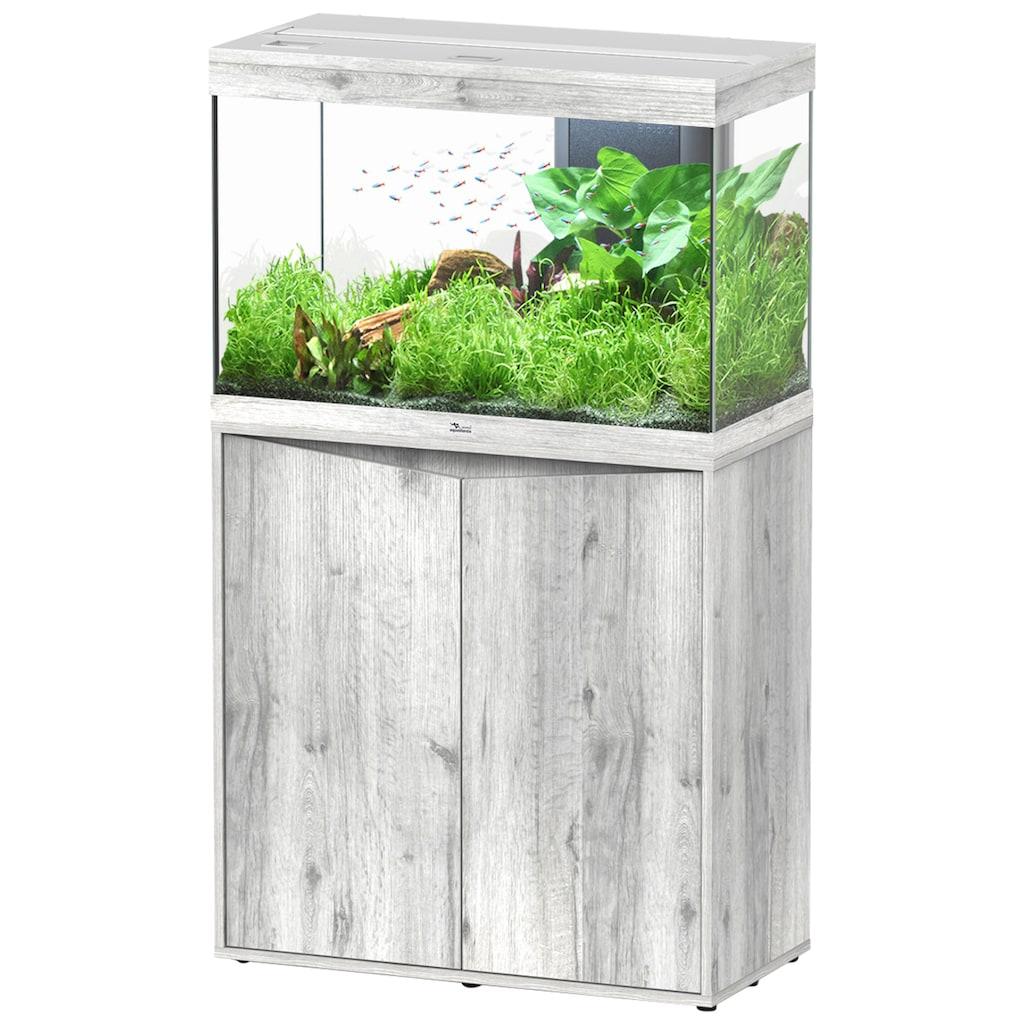 Aquatlantis Aquarien-Set »Splendid 145«, BxTxH: 80x40x139 cm, 180 l, mit Unterschrank in esche weiß