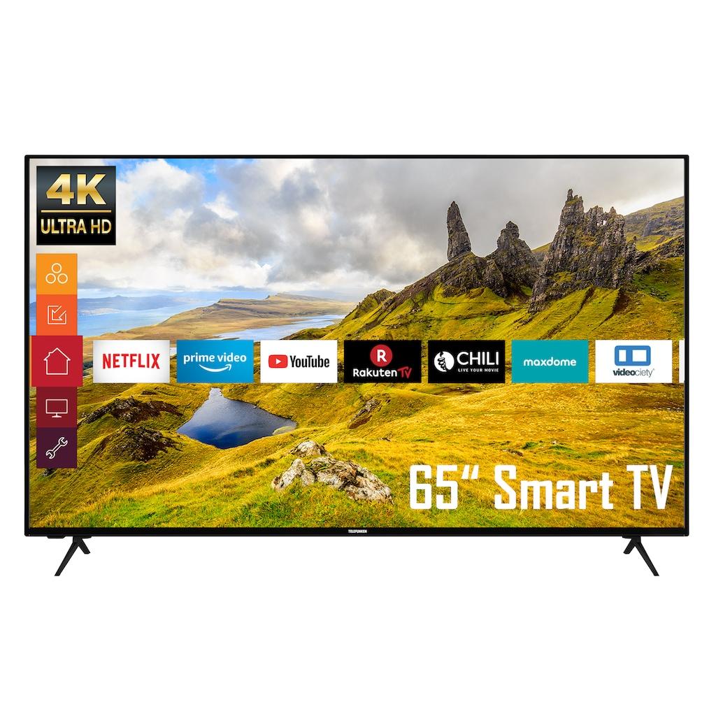 """Telefunken LED-Fernseher »XU65K529«, 164 cm/65 """", 4K Ultra HD, Smart-TV"""