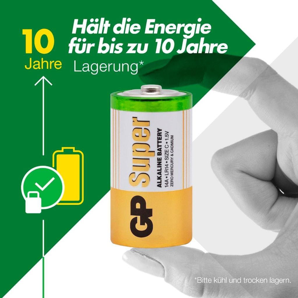 GP Batteries Batterie »Super Alkaline C«, 1,5 V, (Set, 2 St.)