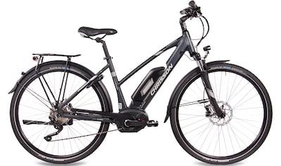 Chrisson E - Bike »E - Actourus Lady«, 10 Gang Shimano Deore RD - T6000 - SGS Schaltwerk, Kettenschaltung, Mittelmotor 250 W kaufen