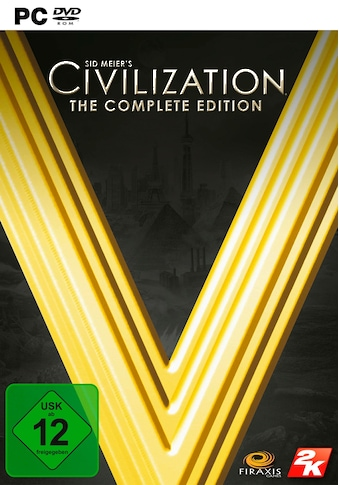 Take 2 Spiel »Civilization V - The Complete Edition«, PC, Software Pyramide kaufen