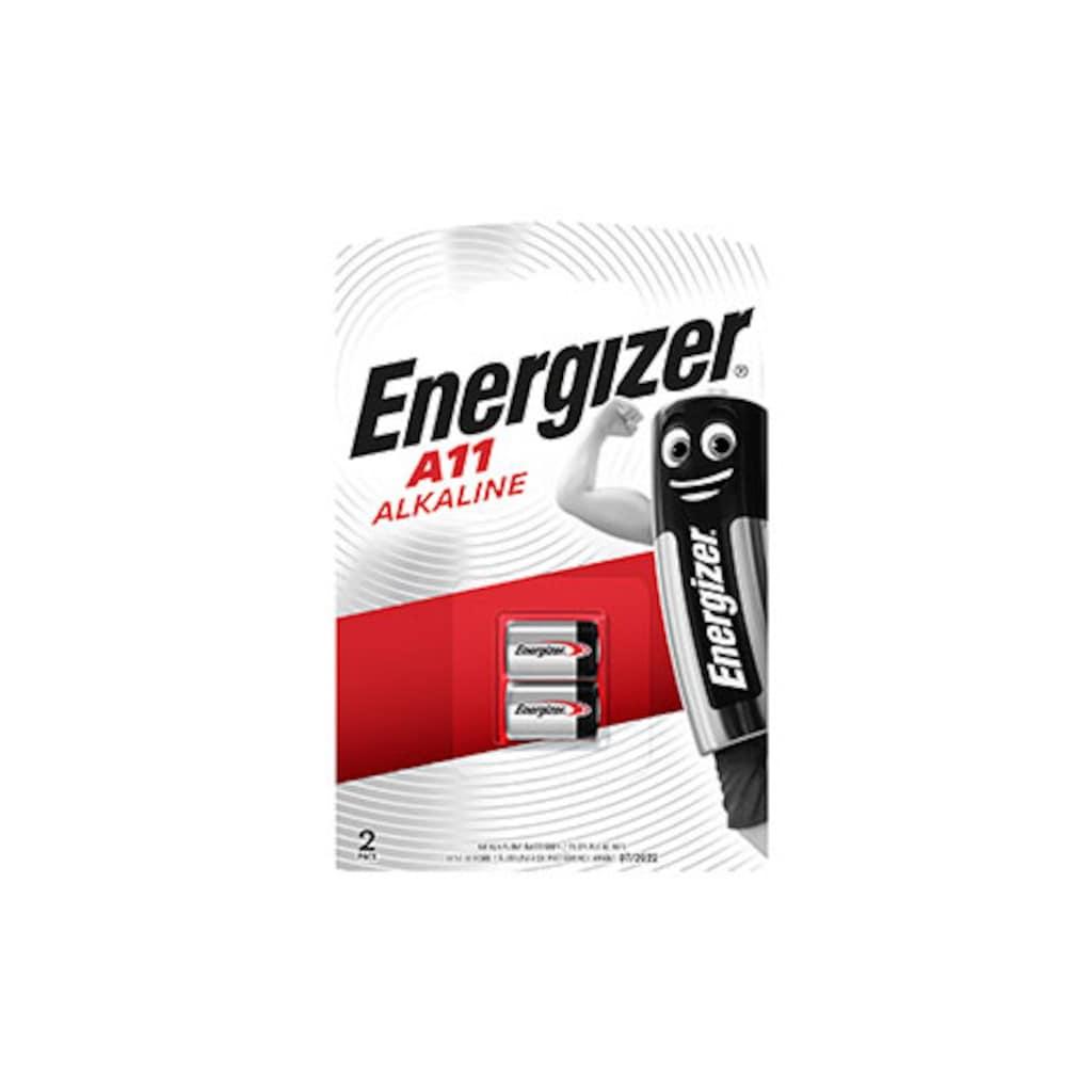 Energizer Batterie »Alkali Mangan A11 2 Stück«, 6 V