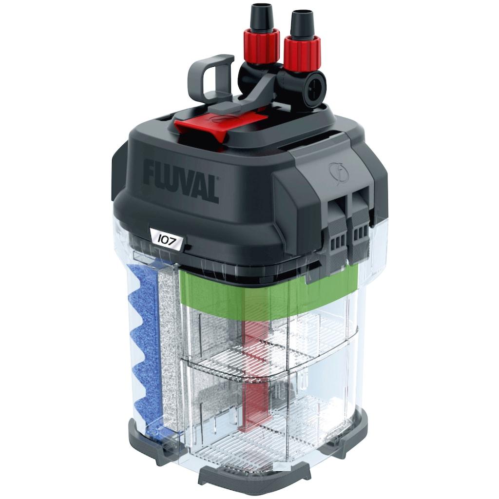 FLUVAL Aquariumfilter »FL 107 Außenfilter«, 550 l/h, bis 130 l Aquariengröße
