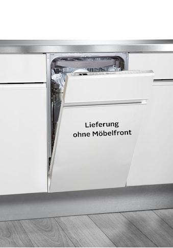 BAUKNECHT vollintegrierbarer Geschirrspüler »BSIO 3O35 PFE X«, BSIO 3O35 PFE X, 10... kaufen