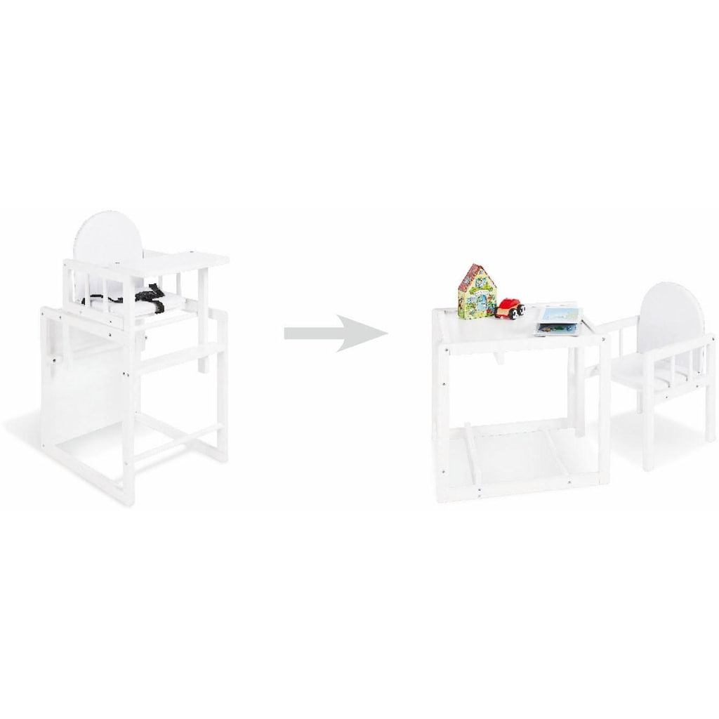 Pinolino® Hochstuhl »Kombistuhl Lene, weiß«, Made in Europe