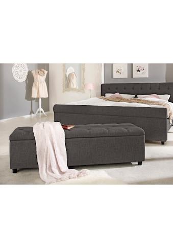 Home affaire Polsterbank »Goronna«, in 5 verschiedenen Farben, Sitzhöhe 41,5 cm, auch als Garderobenbank oder Bettbank geeignet kaufen