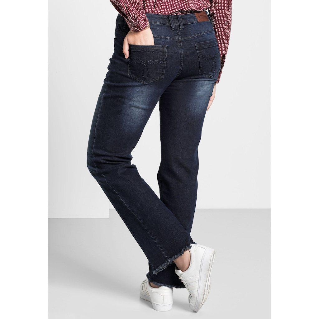 Sheego Gerade Jeans