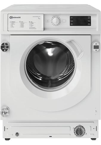 BAUKNECHT Einbauwaschmaschine »BI WMBG 71483E DE N«, BI WMBG 71483E DE N kaufen