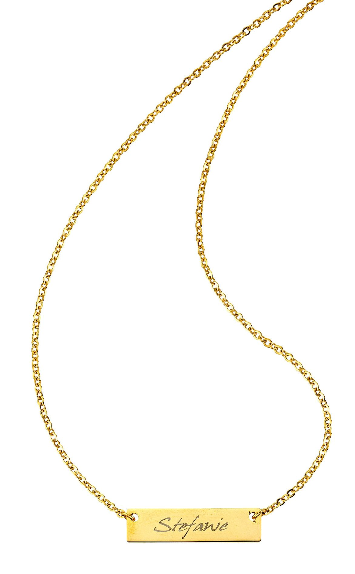 Firetti Namenskette »mit ID-Platte für kostenlose Gravur« | Schmuck > Halsketten > Namensketten | FIRETTI
