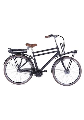 LLobe E-Bike »Rosendaal Gent 15,6 Ah«, 3 Gang, Frontmotor 250 W, Gepäckträger vorne kaufen