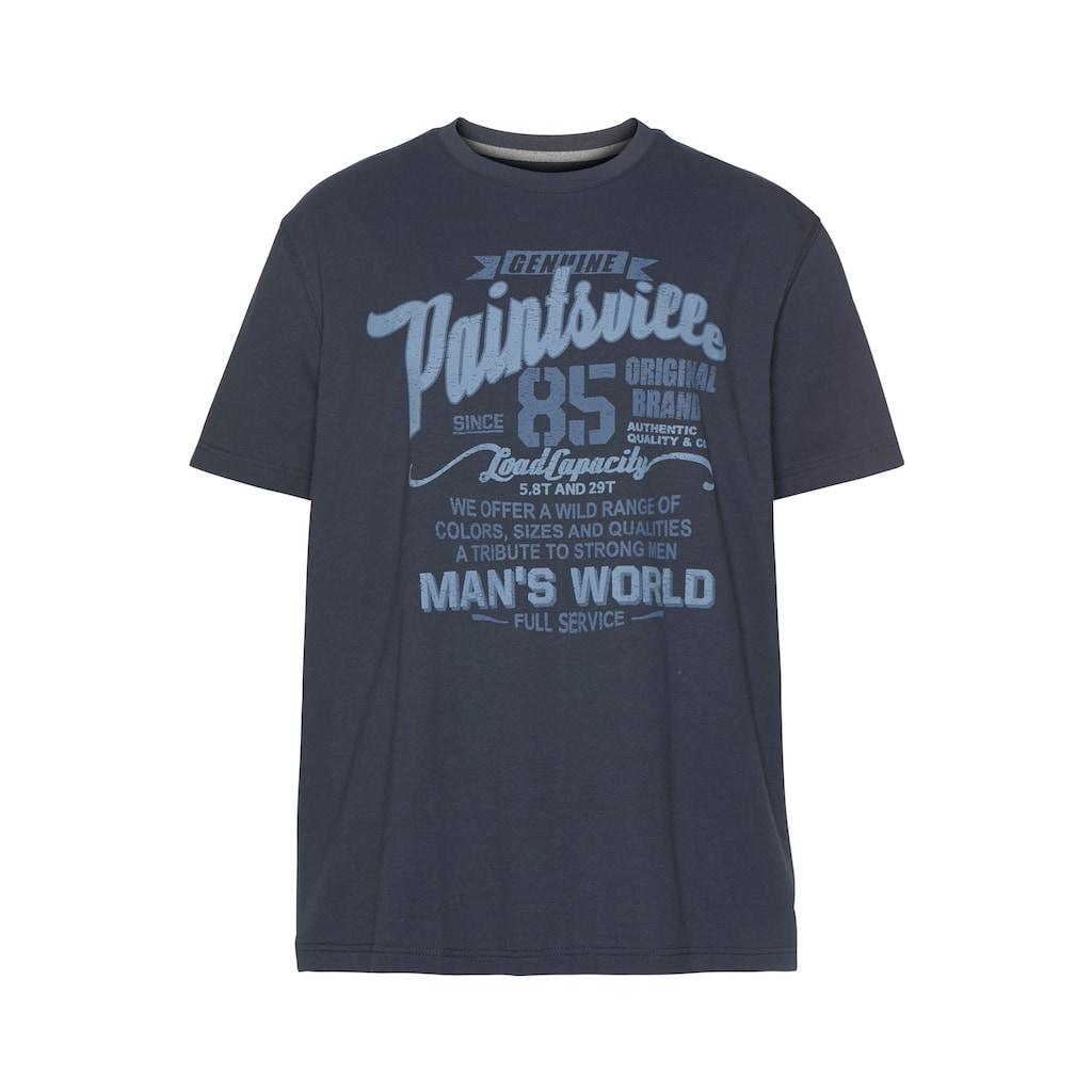 Man's World T-Shirt, mit Print