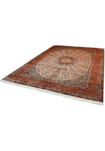 Kayoom Seidenteppich »Kashan 12287«, rechteckig, 10 mm Höhe, Einzelstück mit... kaufen