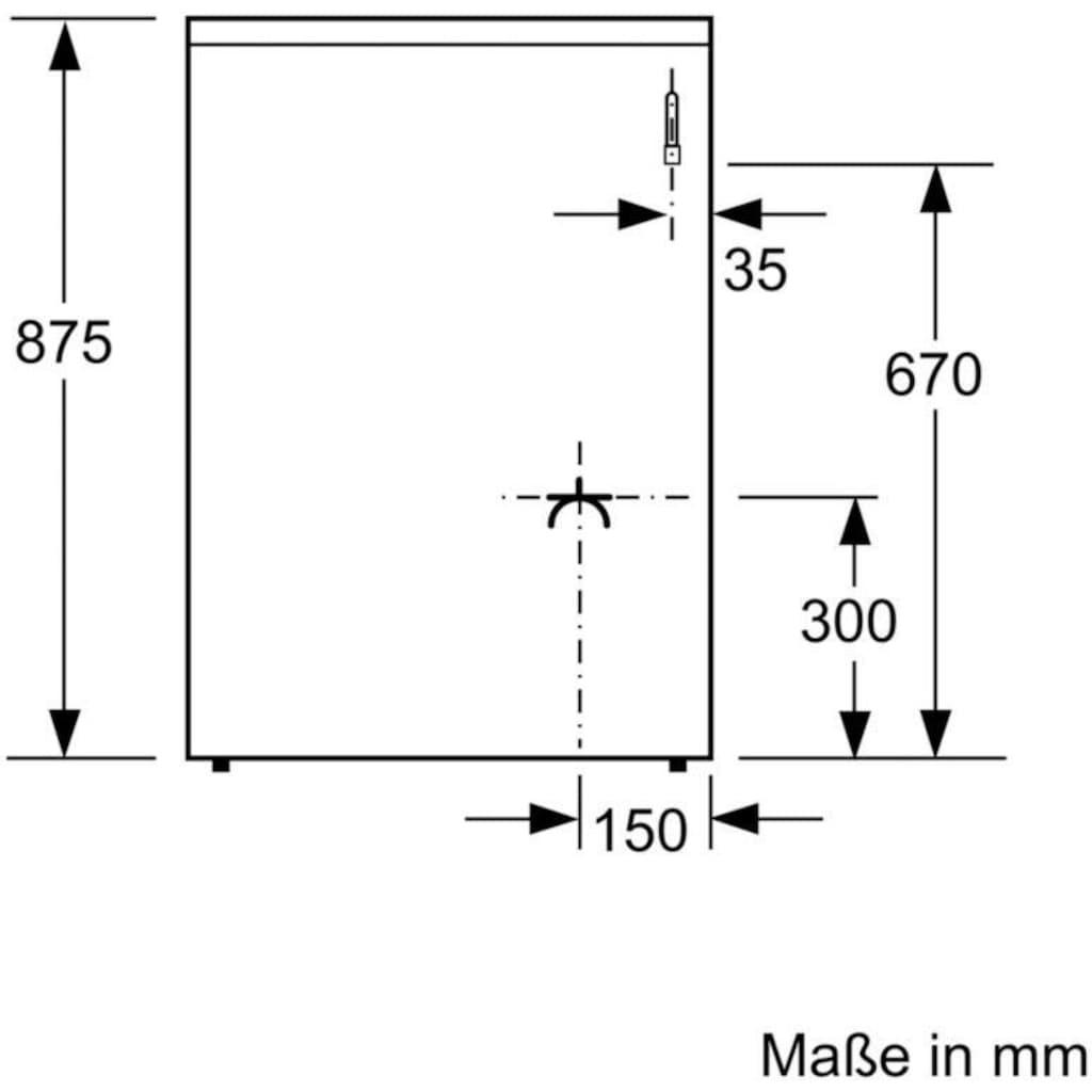 BOSCH Gas-Standherd »HXR39AI50«, 4, HXR39AI50, mit Teleskopauszug nachrüstbar, ecoClean Direct