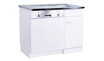 HELD MÖBEL Spülenschrank »Elster«, für Unterbau-Geschirrspüler, ohne Möbelfront B/H/T: ca. 100/60/85 cm kaufen