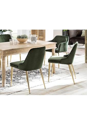 SIT Polsterstuhl »Sit&Chairs«, mit weichem Samtvelours Bezug, im 2er-Set kaufen