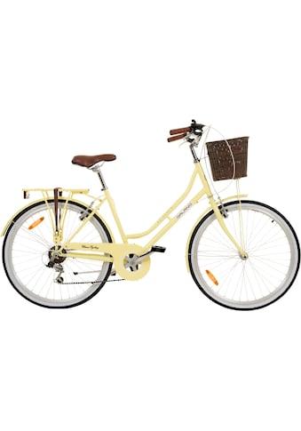 Galano Cityrad »Galano Belgravia«, 6 Gang Shimano Tourney Schaltwerk, Kettenschaltung kaufen