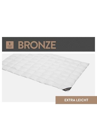 SPESSARTTRAUM Daunenbettdecke »Bronze«, extraleicht, Füllung 90% Daunen, 10% Federn,... kaufen