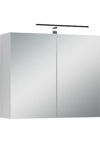 byLIVING Spiegelschrank »Spree«, Breite 70 cm, 2-türig, mit LED Beleuchtung und... kaufen