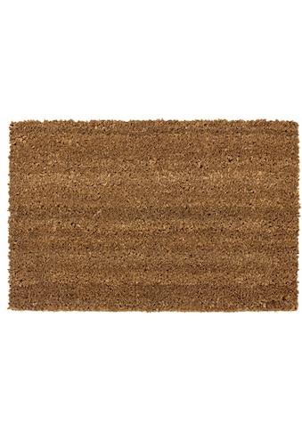 Andiamo Fußmatte »Kokos uni«, rechteckig, 15 mm Höhe, Schmutzfangmatte, In- und... kaufen
