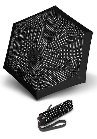 Knirps® Taschenregenschirm »TS.010 Slim Small Manual bolero black/ecru« kaufen
