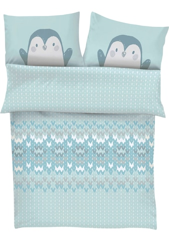 s.Oliver Junior Babybettwäsche »Pinguin«, mit Pinguinmotiv kaufen