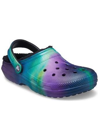 Crocs Hausschuh »Classic Lined Out of This World Clog«, mit Batik-Muster kaufen