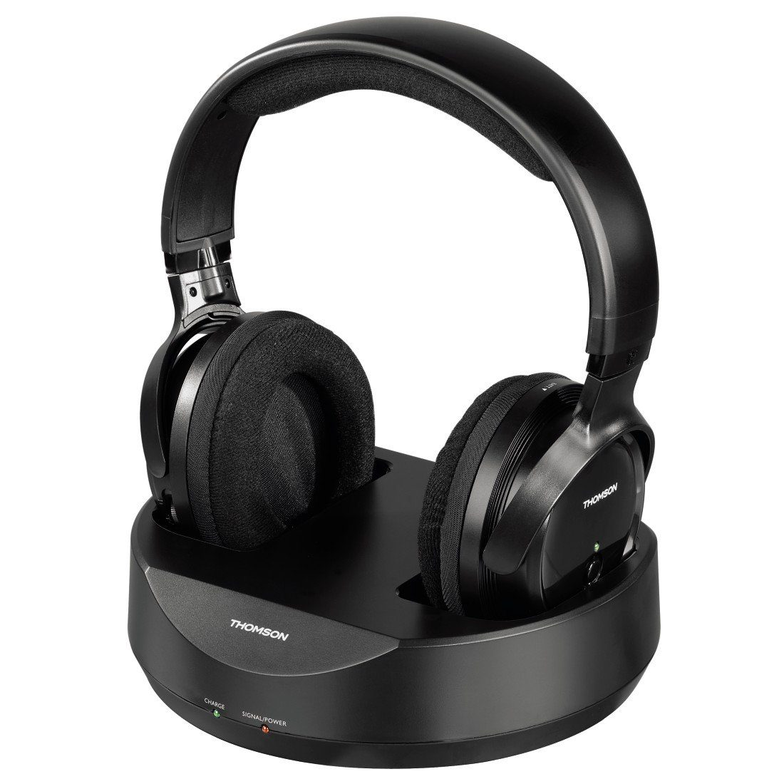 Thomson Funkkopfhörer WHP3001BK kabelloser Over-Ear Kopfhörer »für TV, Fernseher, PC, HiFi«