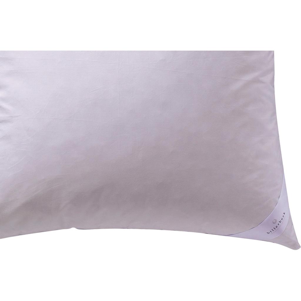 billerbeck Microfaserkissen »Liliane«, Bezug: 100% Baumwolle, (1 St.)