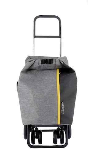 Rolser Einkaufstrolley »Logic Tour Roll Top Tweed«, in verschiedenen Farben, Max. Tragkraft: 40 kg, Tasche abnehmbar kaufen