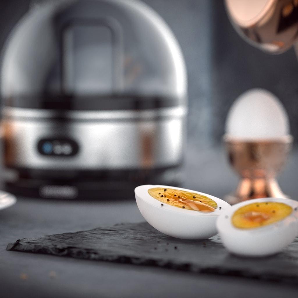 Arendo Eierkocher mit Warmhaltefunktion für 7 Eier