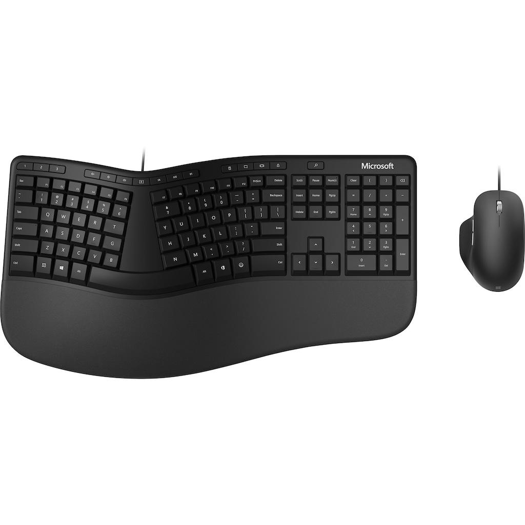 Microsoft Tastatur »Ergonomic Desktop«