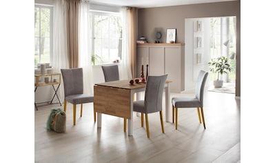 Home affaire Esstisch »Samba«, Breite 120 cm, mit ausklappbarer Tischplatte kaufen