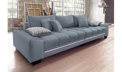 Nova Via Big-Sofa, wahlweise mit Kaltschaum (140kg Belastung/Sitz), mit... kaufen