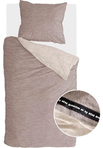 Walra Bettwäsche »Casual Beauty«, mit Ziernaht und Zitat kaufen