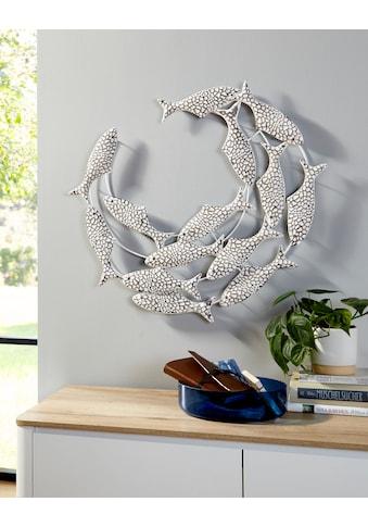 Home affaire Wanddekoobjekt »Wanddeko Fische« kaufen