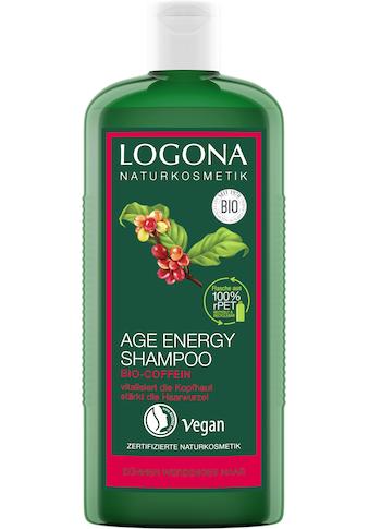 LOGONA Haarshampoo »Logona Age Energy Shampoo Bio-Coffein« kaufen