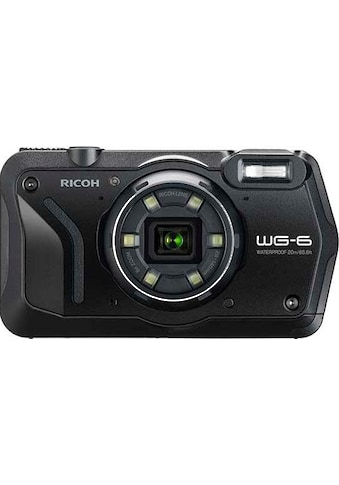 Ricoh Outdoor-Kamera »WG-6«, RICOH Objektiv, 11 Elemente in 9 Gruppen (5 asphärische... kaufen