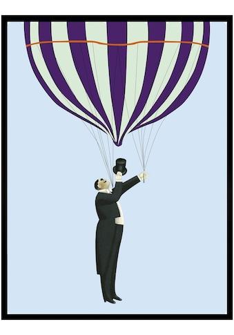 G&C Kunstdruck »Take me for a Ride«, Luftballon, 33/43 cm, gerahmt kaufen