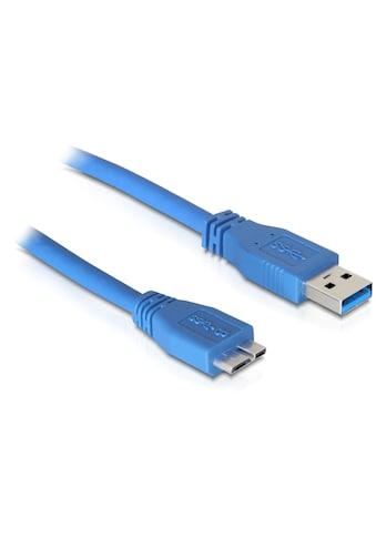 Delock USB Kabel 1m »3.0 Typ - A Stecker auf USB 3.0 Typ Micro - B Stecker« kaufen