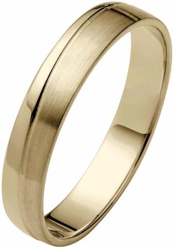 Firetti Trauring »glanz, matt, Diamantschnitt, 4,0 mm breit« kaufen