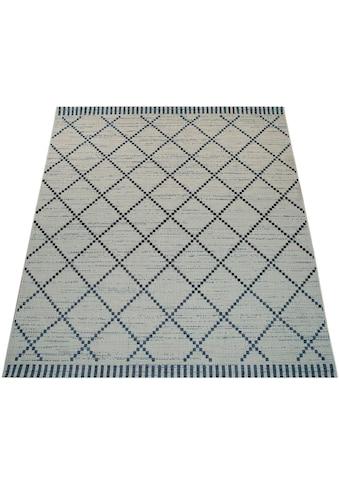 Paco Home Teppich »Kortrijk 742«, rechteckig, 5 mm Höhe, In- und Outdoor geeignet,... kaufen