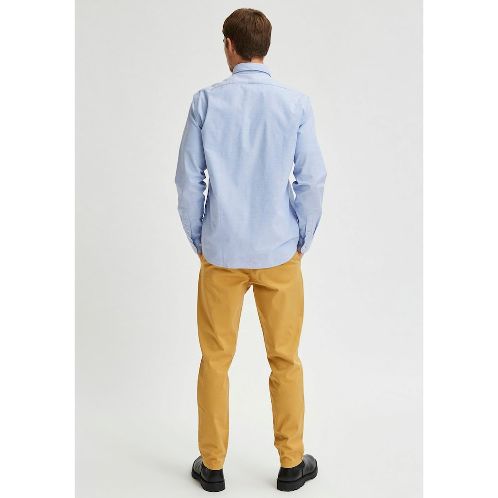 SELECTED HOMME Langarmhemd »RICK-OX FLEX SHIRT«