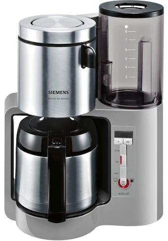 SIEMENS Filterkaffeemaschine »Sensor for Senses TC86505«, Papierfilter, 1x4, Wassertank mit Griff kaufen