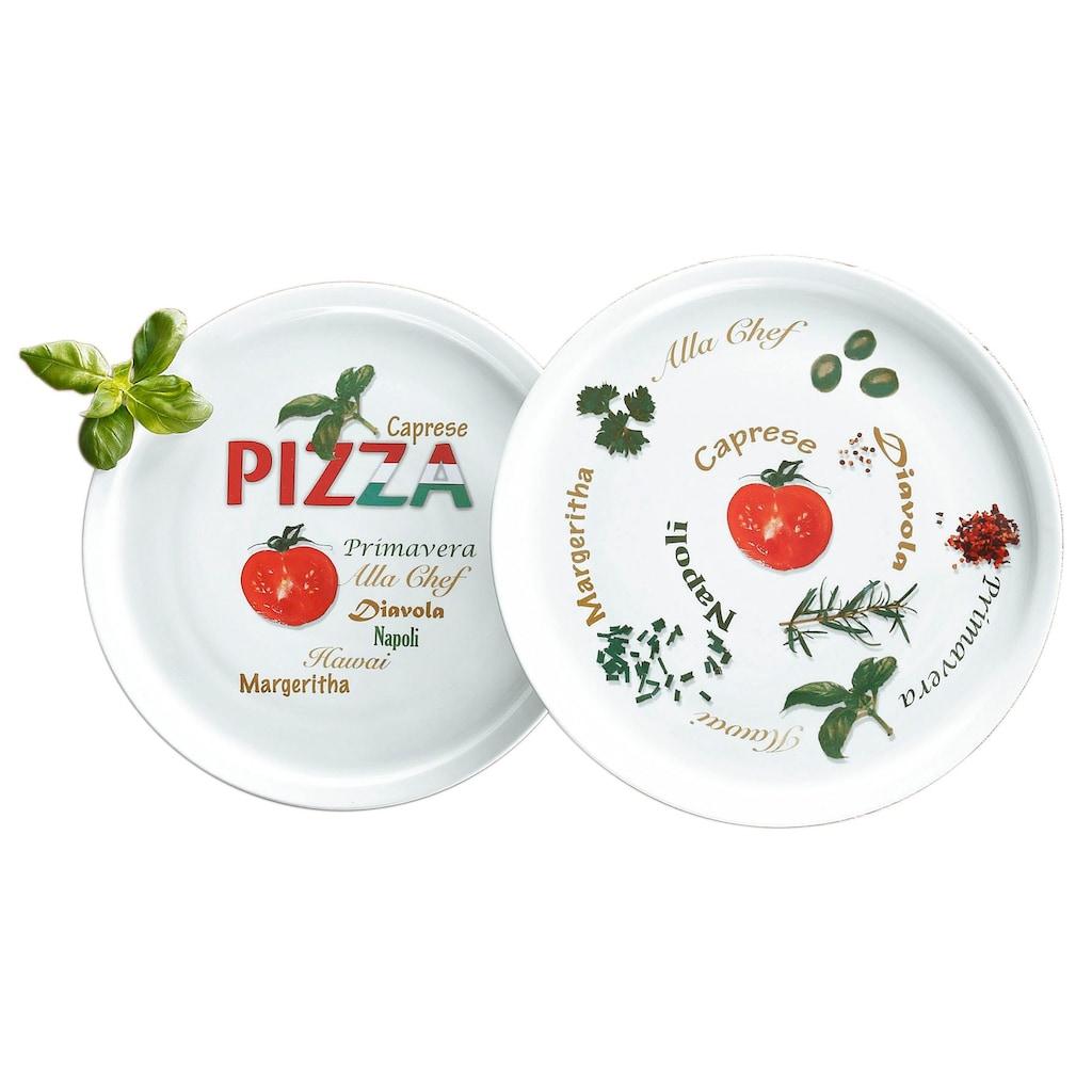 Retsch Arzberg Pizzateller »Italia«, (6 St.), Porzellan