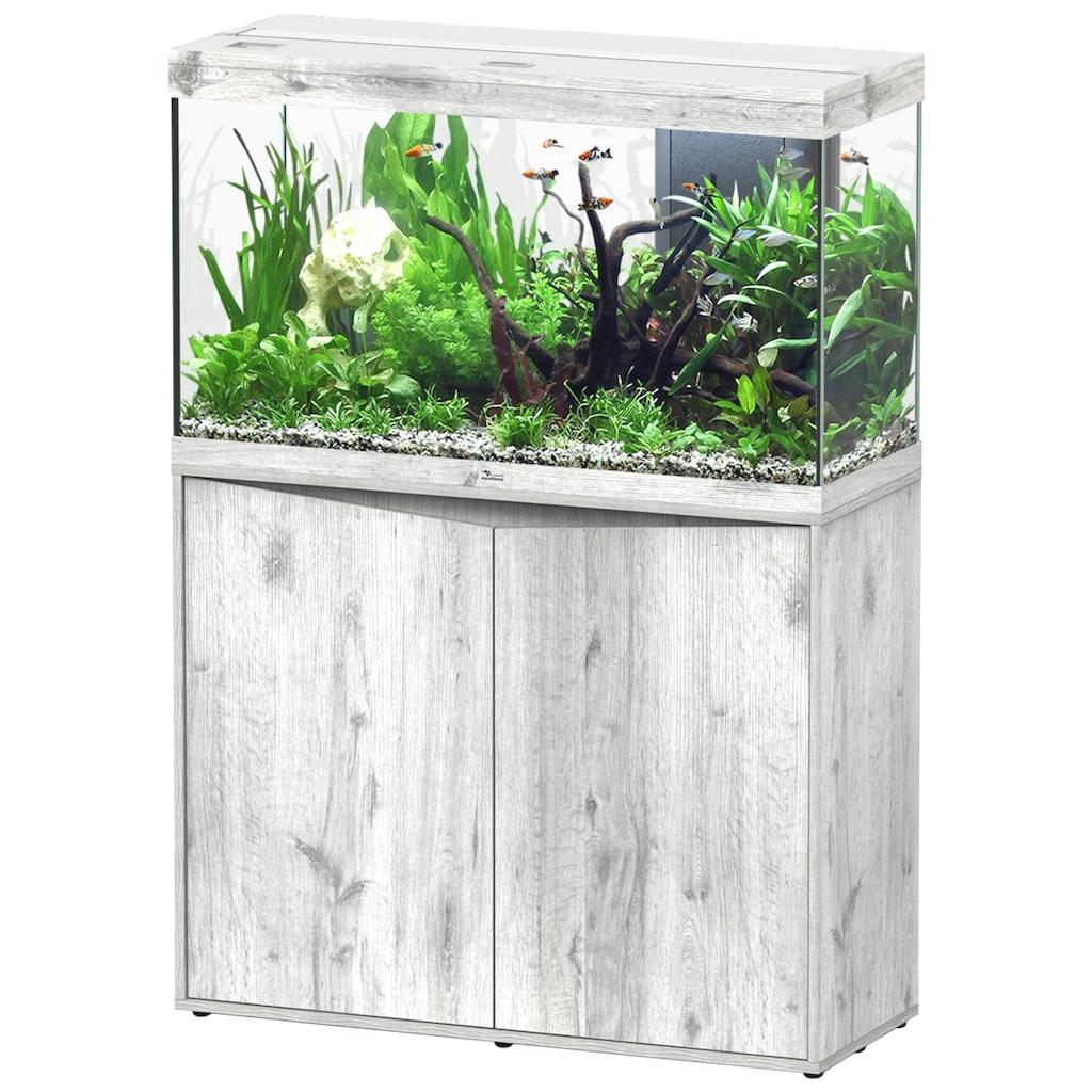 Aquatlantis Aquarien-Set »Splendid 200«, BxTxH: 102x40x144 cm, 249 l, mit Unterschrank in esche weiß